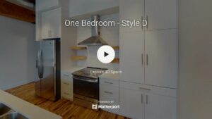 One Bedroom Style D