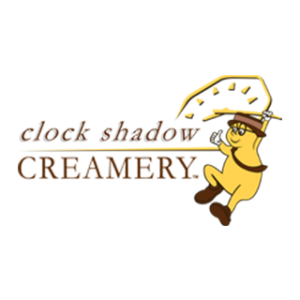 Clock Shadow Creamery Logo