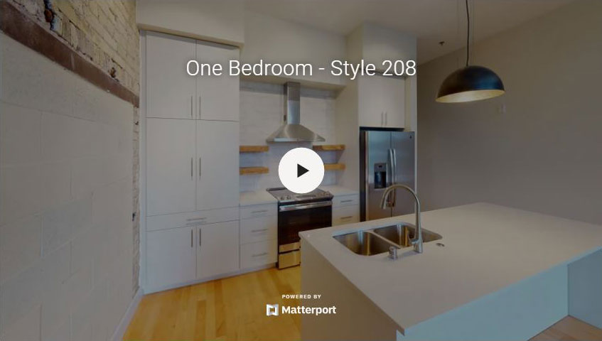 One Bedroom Style 208